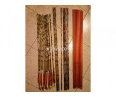 aste e frecce Easton XX75 e altri accessori arceria